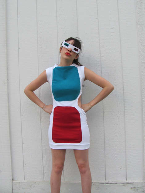 3-D Glasses Dress